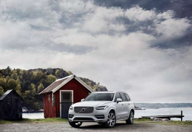 Photo d'un véhicule Volvo XC90 TWIN ENGINE